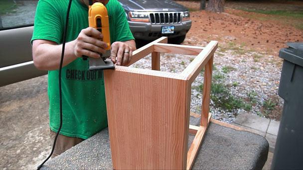 2x4 half lap bar stools (20)