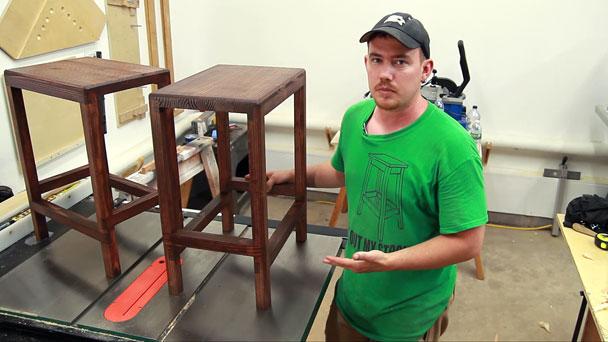 2x4 half lap bar stools (22)