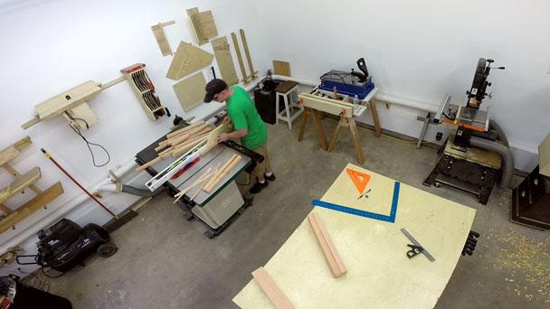 2x4 half lap bar stools (4)