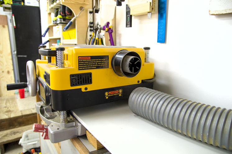 My DW735 Planer Setup And Thoughts | Jays Custom Creations