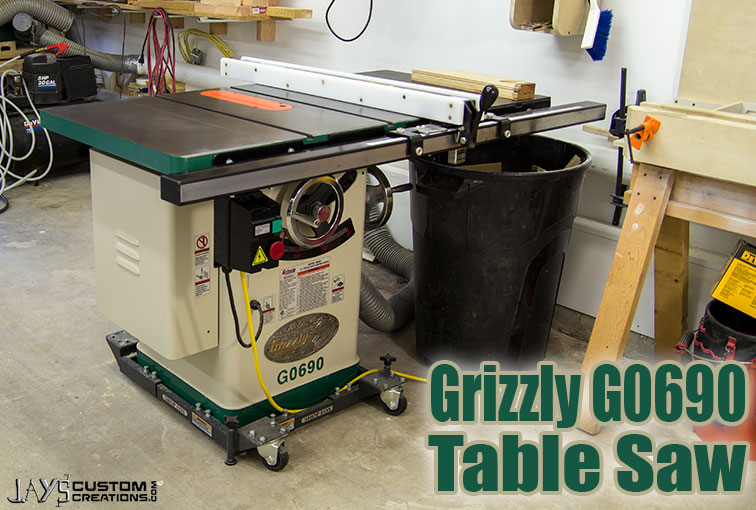 Thoughts on my grizzly g0690 table saw jays custom creations my greentooth Images