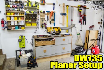 My DW735 Planer Setup And Thoughts