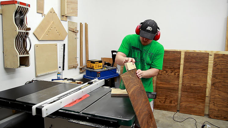 Making Tongue And Groove Cabinet Doors With A Table Saw