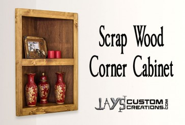 Pocket Hole Corner Cabinet