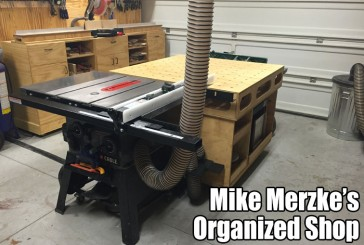 Mike Merzke's Very Well Laid Out Shop
