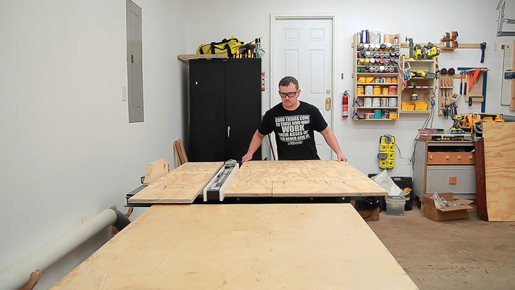 table saw clutter catcher shelf (1)