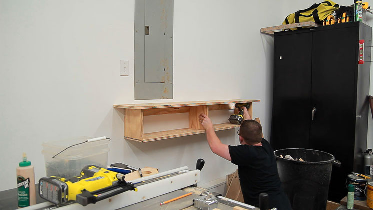 table saw clutter catcher shelf (11)