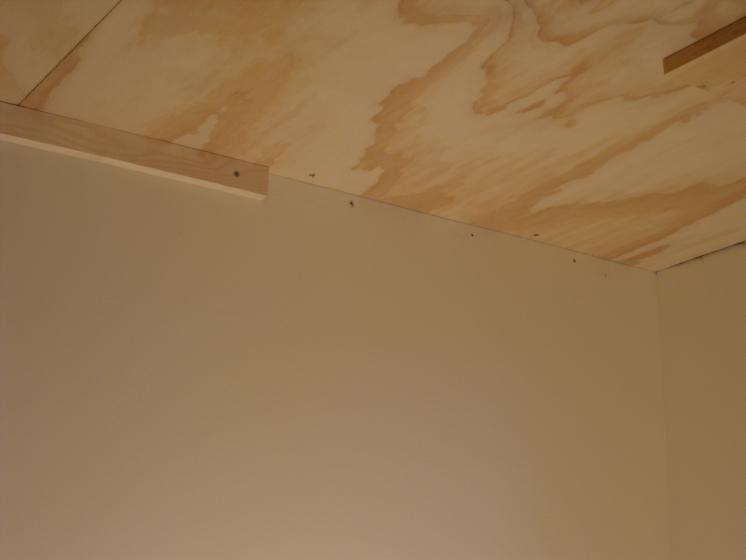 Don Oystryk Removable Panel Amp Batten Basement Ceiling