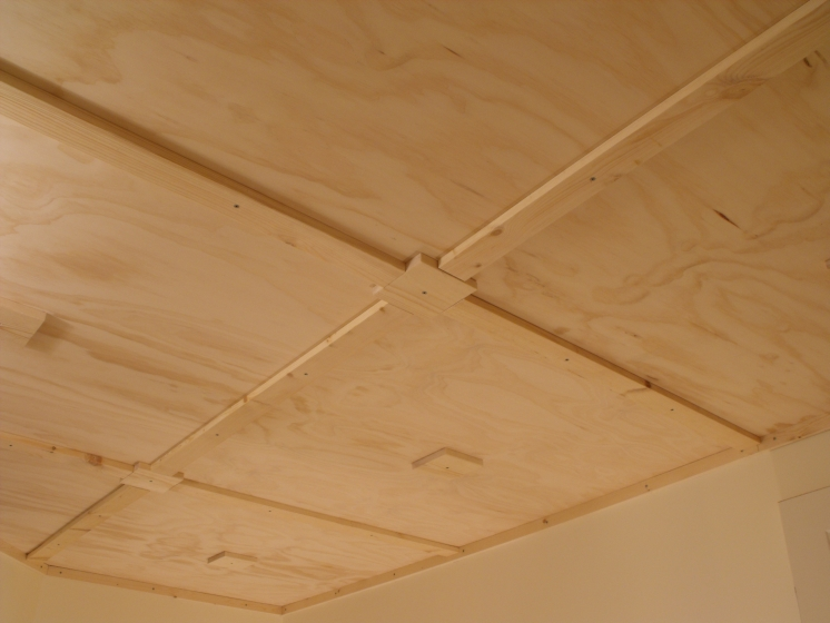 Don Oystryk Removable Panel Amp Batten Basement Ceiling