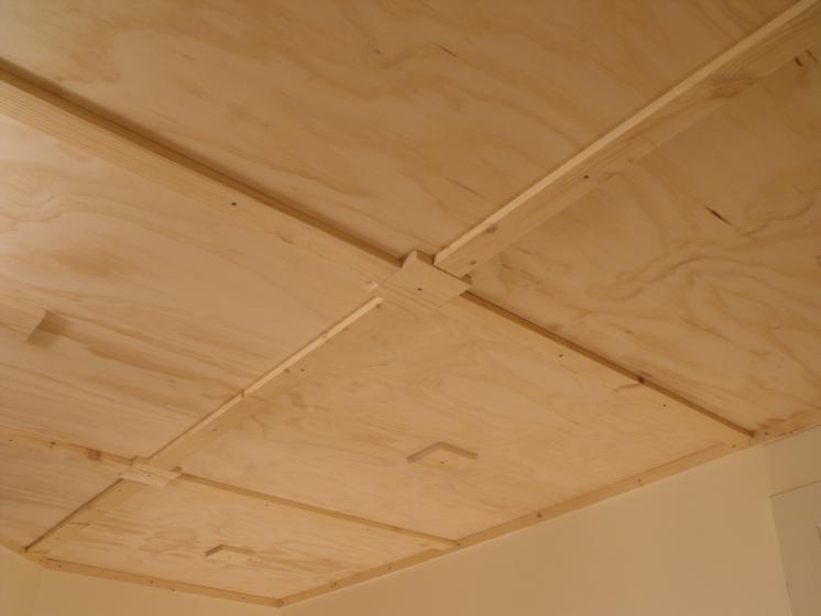 Don oystryk removable panel batten basement ceiling