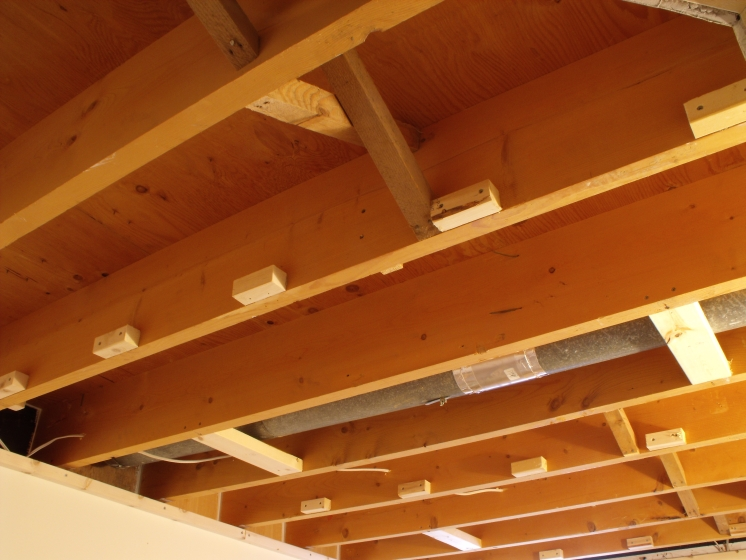 Don Oystryk Removable Panel And Batten Basement Ceiling 4