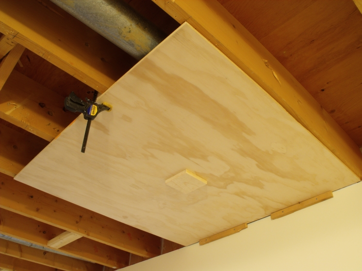 Don Oystryk Removable Panel And Batten Basement Ceiling 6