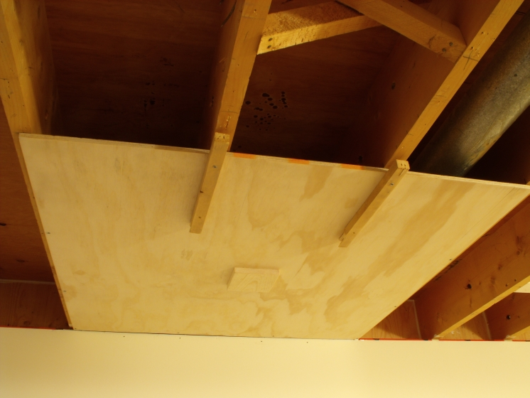 Don Oystryk removable panel and batten basement ceiling (7)