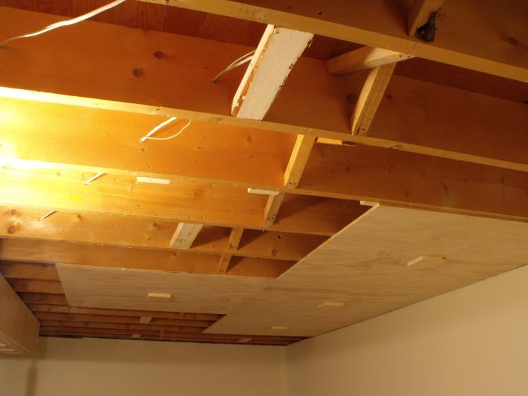 don oystryk removable panel batten basement ceiling jays rh jayscustomcreations com Decorative Ceiling Ideas for Basements basement drop ceiling panels