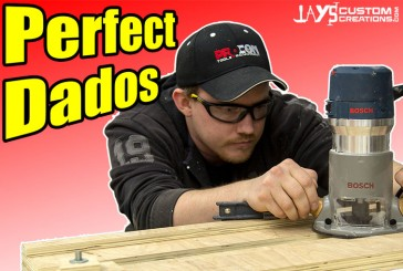 Perfect Dados With A Router Dado Jig