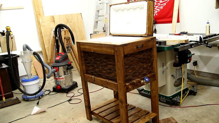 wooden cooler box (31)