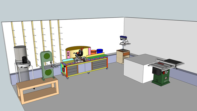 Router Lift And Miter Saw Station Concepts Jays Custom