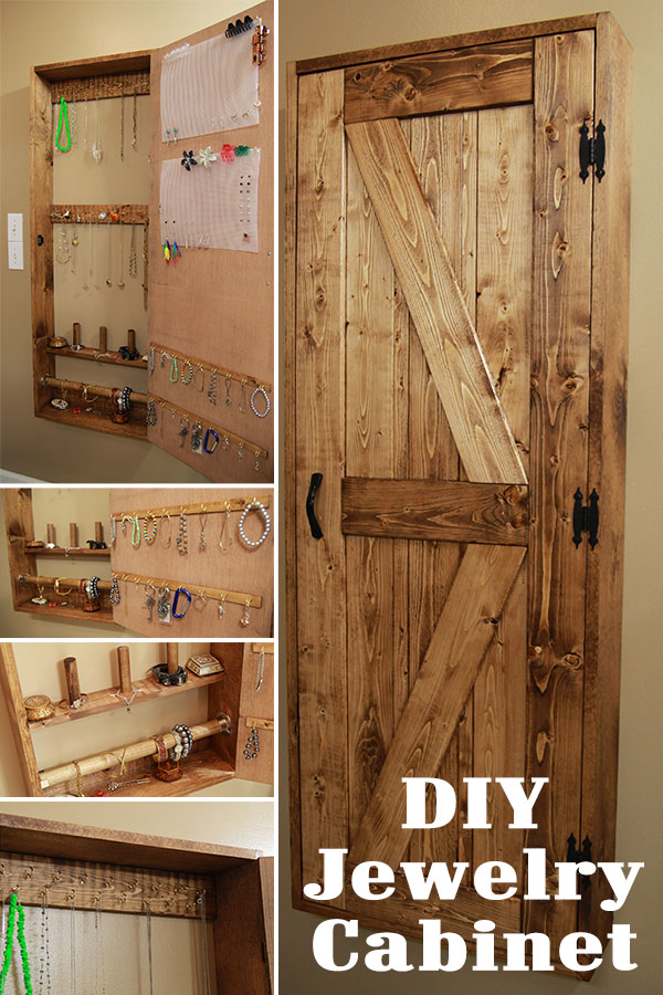 Jamie And I Make A Jewelry Organizer Cabinet Jays Custom