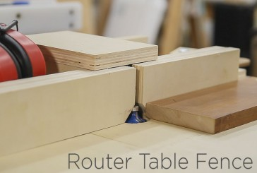 Adjustable Router Table Fence