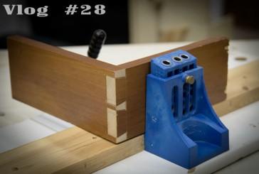 Vlog #28: Hand Cut Dovetails at 60FPS