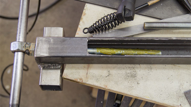 Making A Metal Vise From Square Tubing Jays Custom Creations