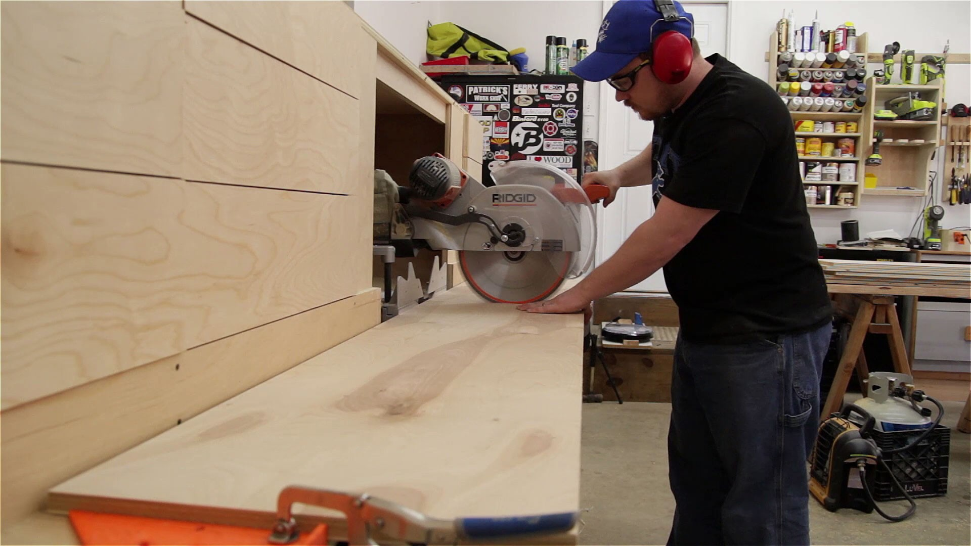 miter saw station storage boxes and drawer fronts (11)