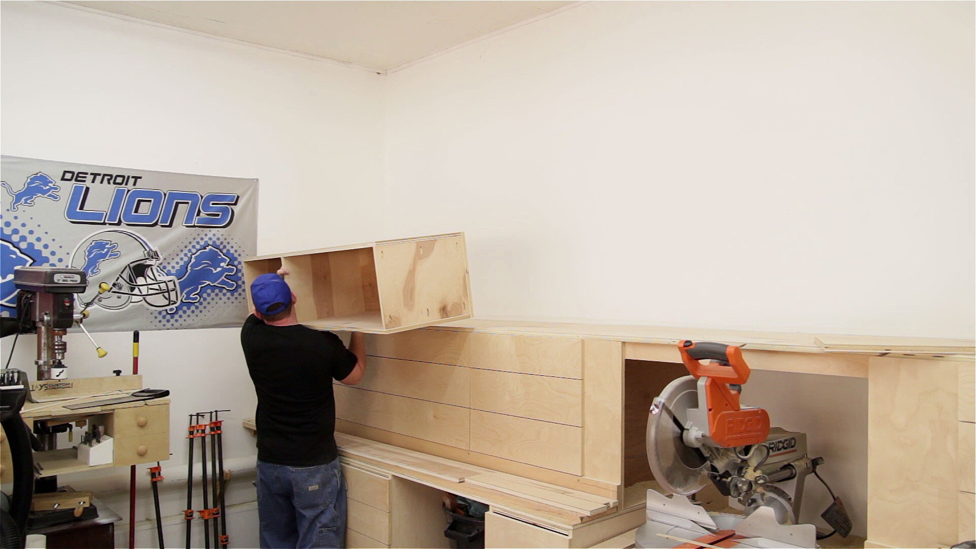 miter saw station storage boxes and drawer fronts (15)