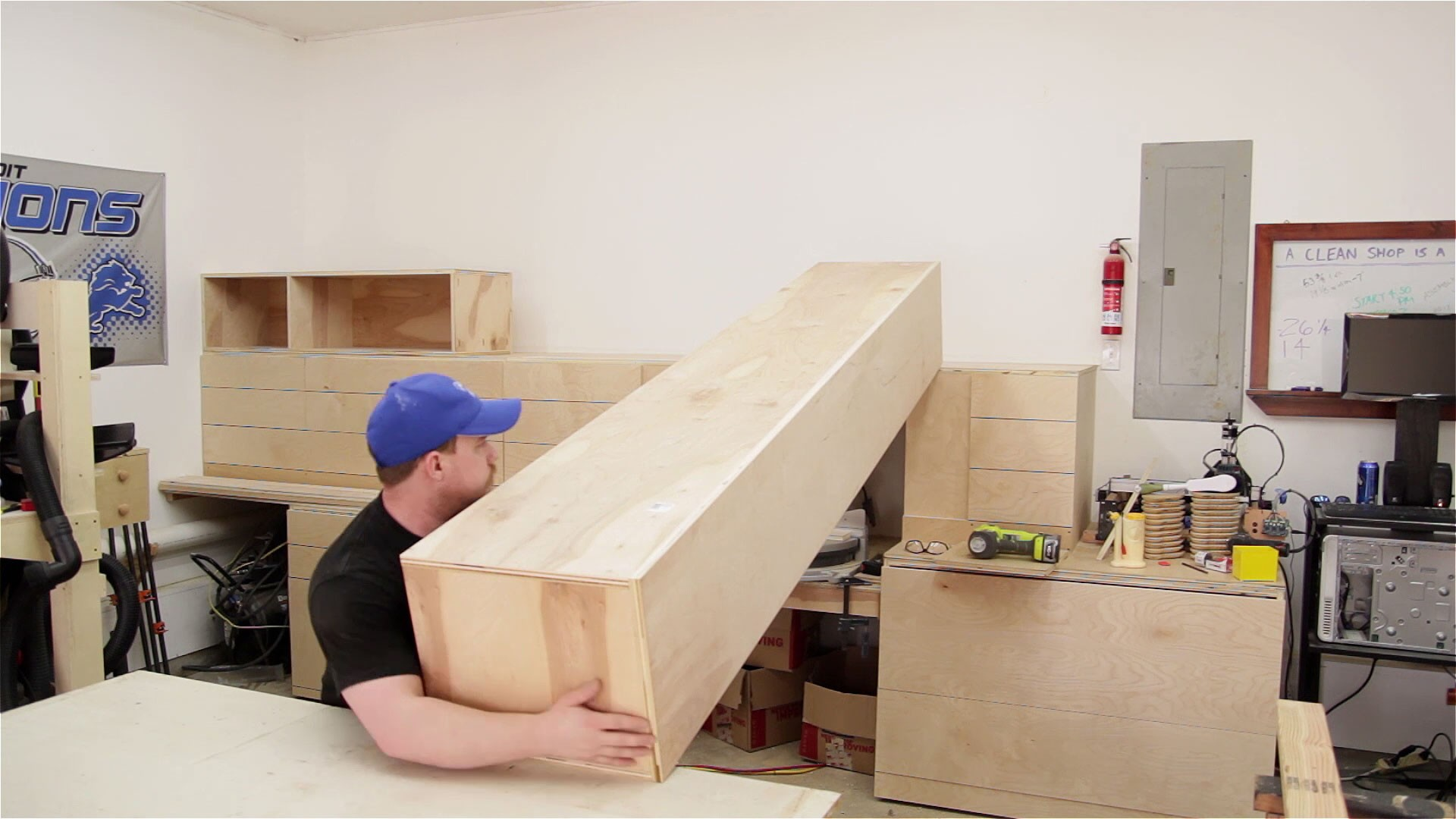 miter saw station storage boxes and drawer fronts (16)