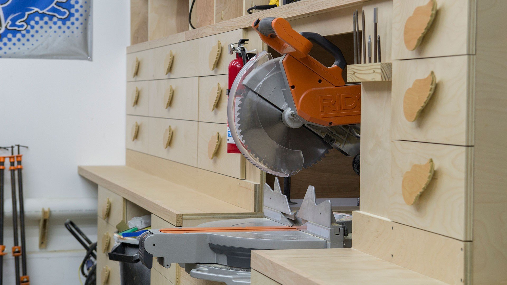 miter saw station storage boxes and drawer fronts (18)