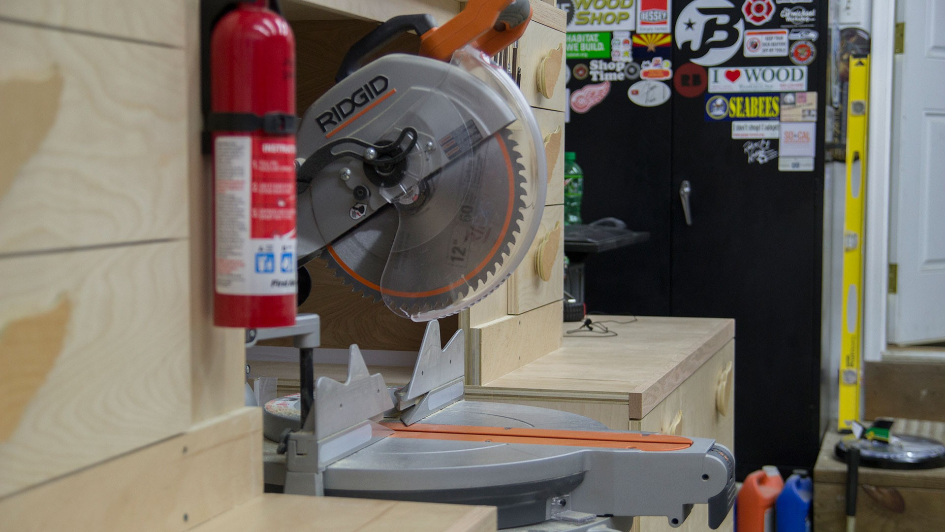 miter saw station storage boxes and drawer fronts (21)