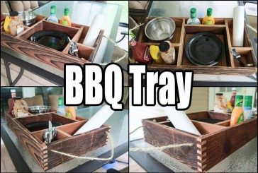Trash To Treasure – BBQ Condiment Tray