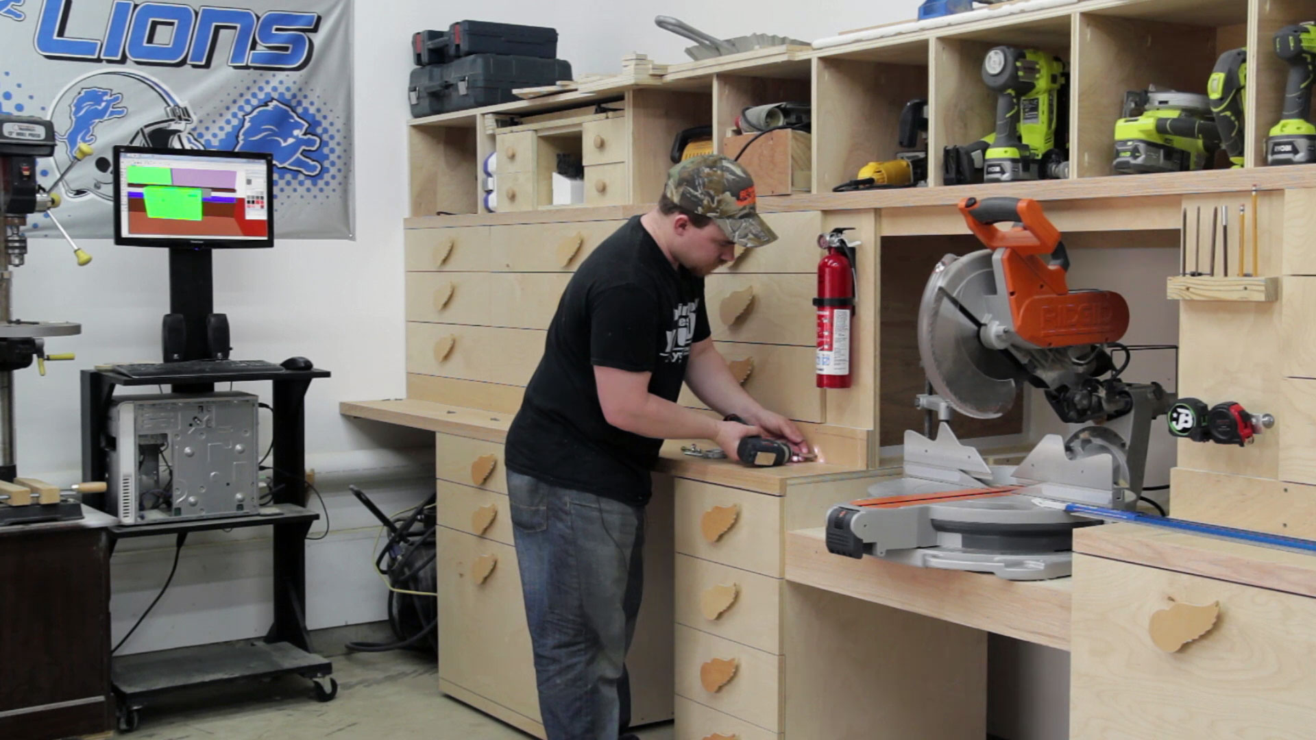 Super Simple Stop Block For A Miter Saw Station Jays