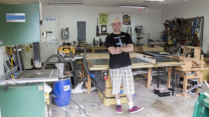 Garage woodworks shop tour jays custom creations for 2 car garage with workshop
