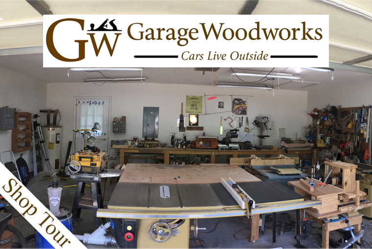 featured image garage woodworks shop tour