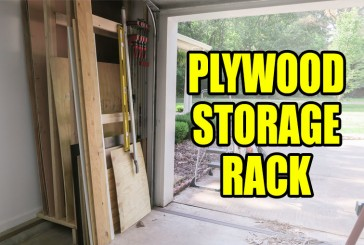 Plywood Storage Rack For My Shop