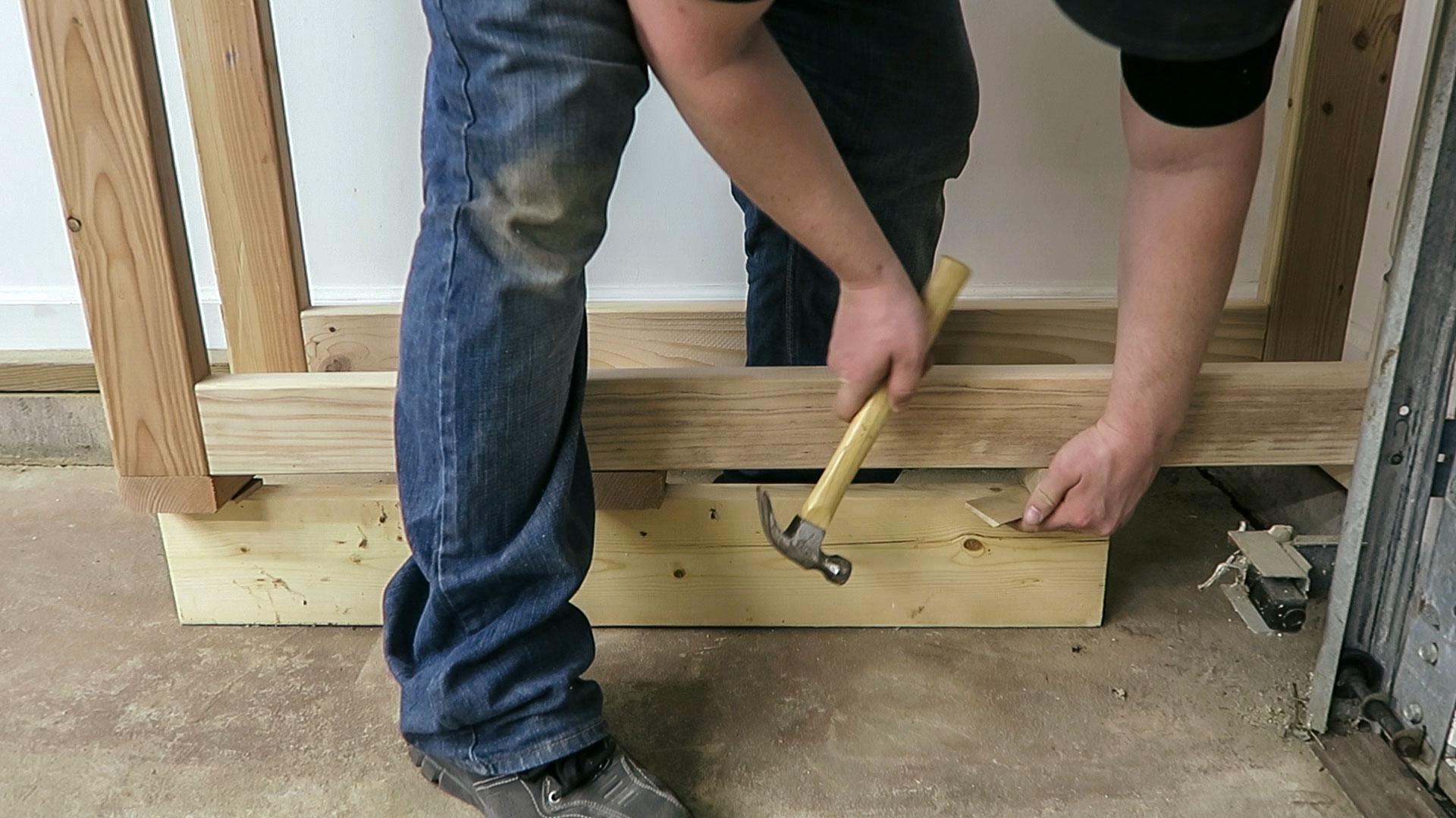 Plywood Rack
