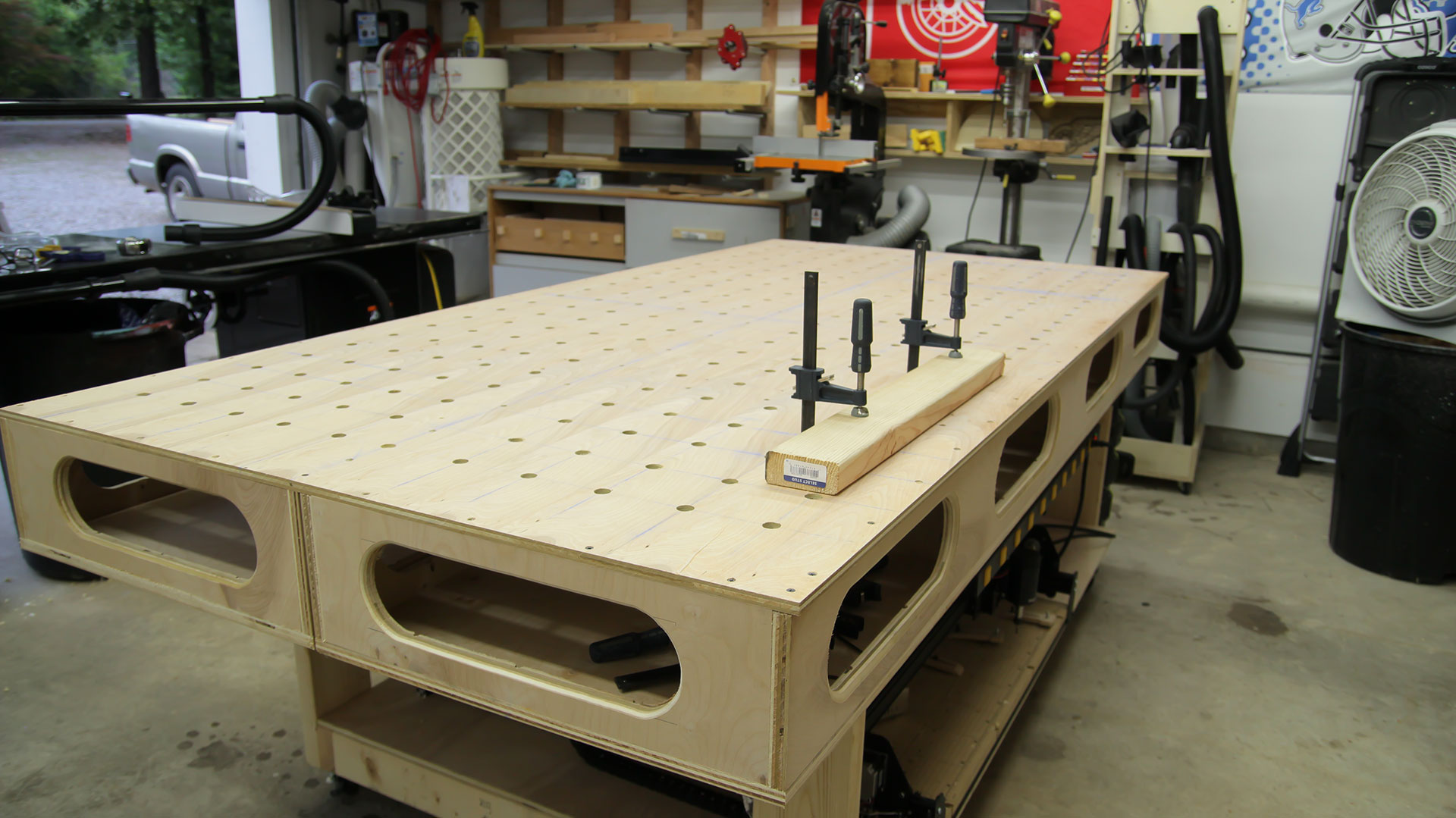 how to build paulk workbench
