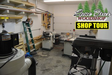 Lane Bros WoodShop Shop Tour