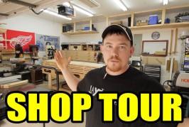 2 Car Garage Woodshop – Shop Tour 2015