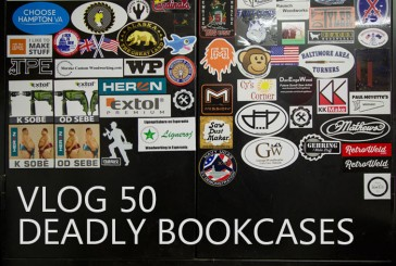 Vlog #50: Deadly Bookcases, Chest of Drawers, and Shop Changes…Again.
