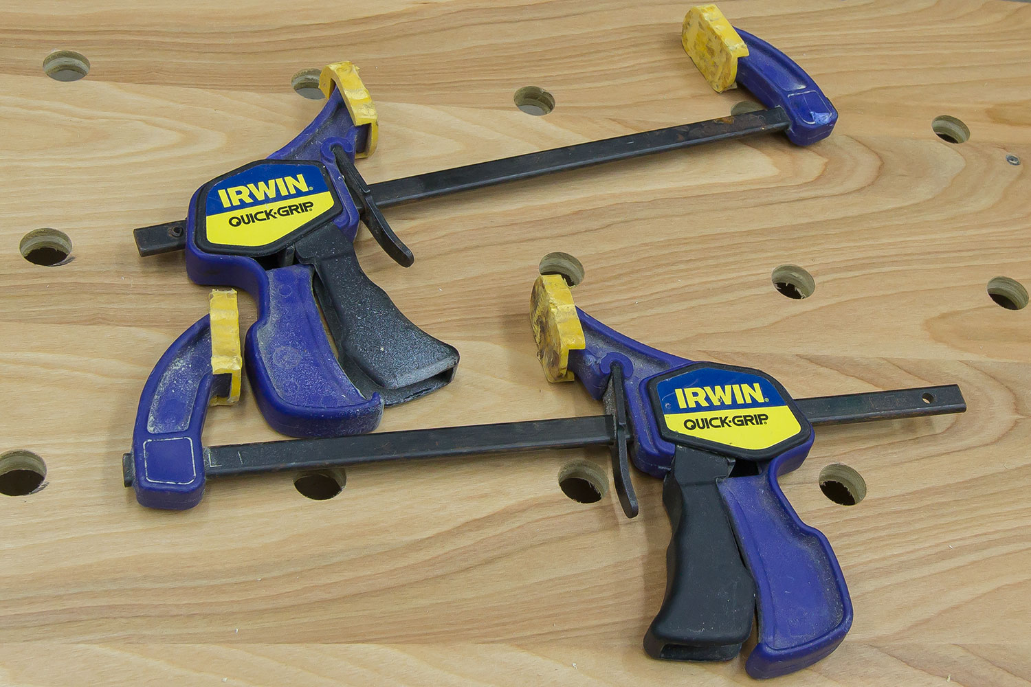 Awe Inspiring Quick Clamps For Paulk Workbench Or Mft Table Jays Custom Andrewgaddart Wooden Chair Designs For Living Room Andrewgaddartcom