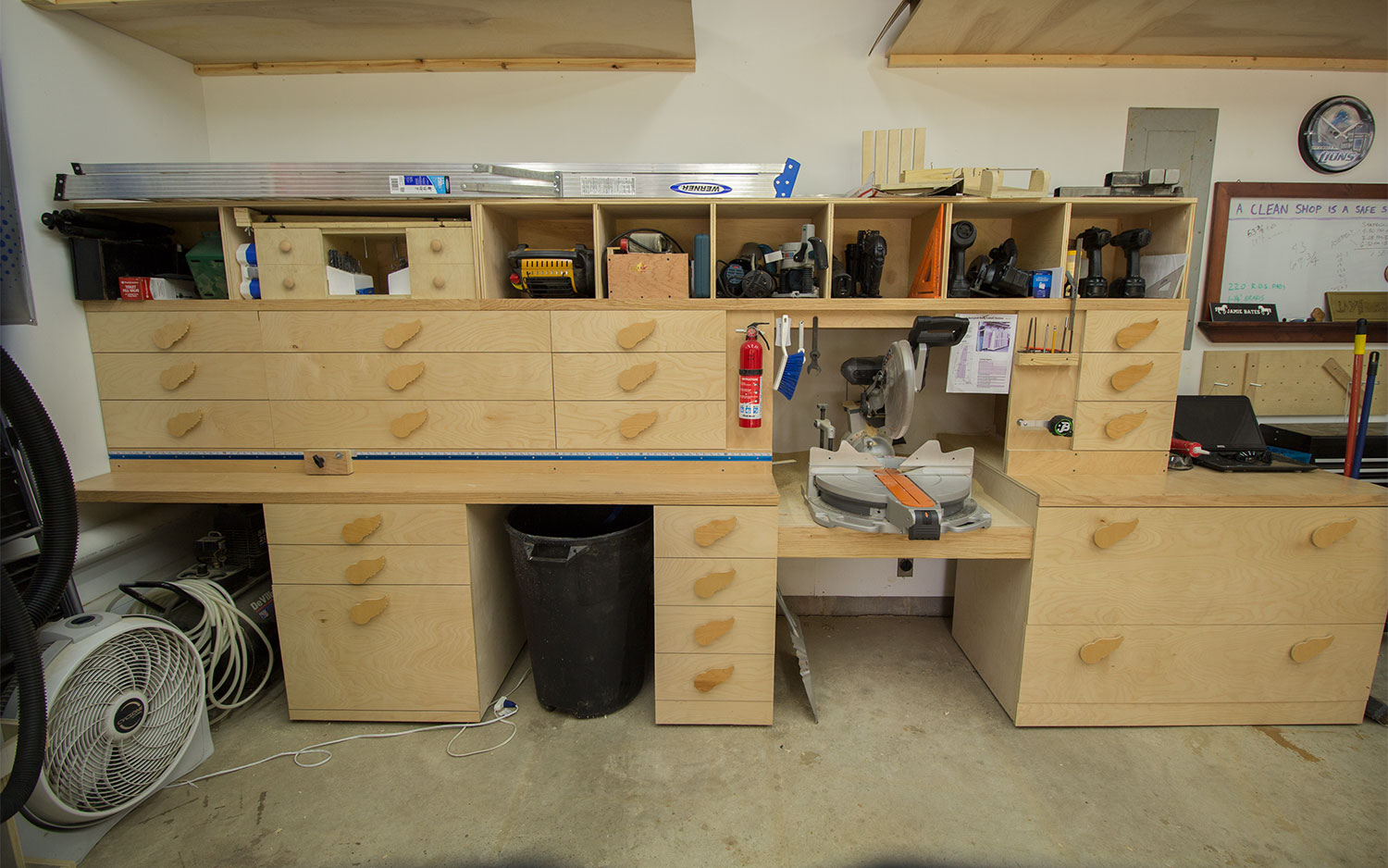 2 Car Garage Woodshop Shop Tour 2015