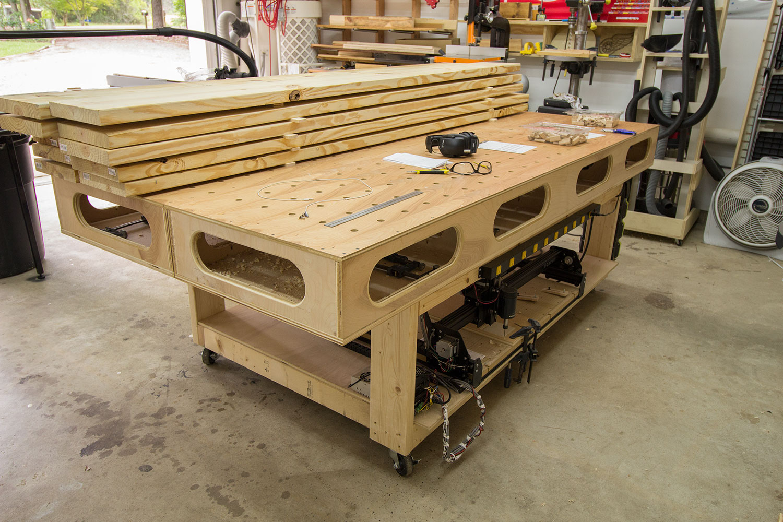 2 car garage woodshop shop tour 2015 jays custom creations for Garage design tool