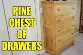Knot Free Pine Chest Of Drawers