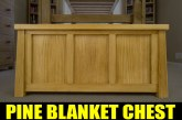 Tongue And Groove Blanket Chest