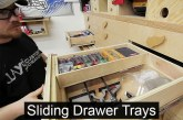 Increasing Drawer Storage With Sliding Trays