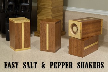 Easy Gift Project: Salt And Pepper Shakers