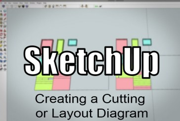 SketchUp: Making A Cutting Layout For Plywood Parts
