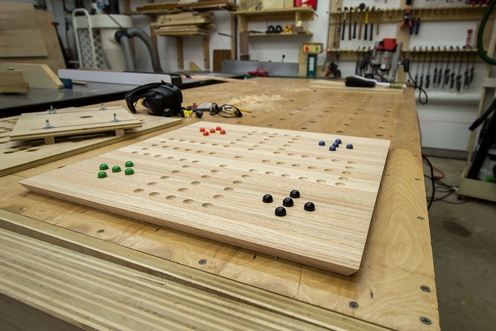 Easy Gift Project: Homemade Board Games | Jays Custom Creations