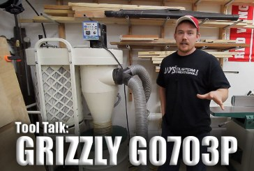 Tool Talk #2: Grizzly G0703P Cyclone Dust Collector